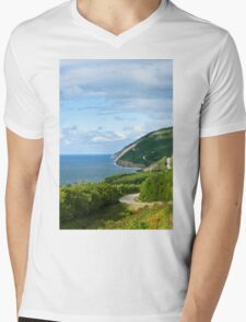 Cape Breton Highlands National Park Mens V-Neck T-Shirt
