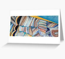 Aerial Contours # 5 Greeting Card