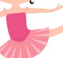Beautiful little Ballerina girl Sticker