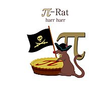 Pi-Rats love Pie Photographic Print