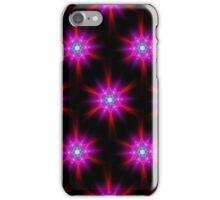Neon Stars Fractal Art iPhone Case/Skin