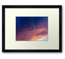 Summer Cloudscape 2 Framed Print