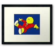 Floating - Alien Framed Print