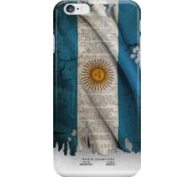 Argentina Flag World cup iPhone Case/Skin