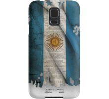 Argentina Flag World cup Samsung Galaxy Case/Skin
