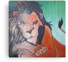 Every Lion Has Its Scar Canvas Print