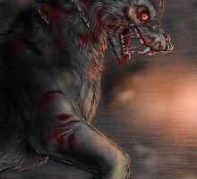 The great Fenrir - bloody battle by Furiarossa