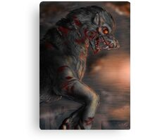 The great Fenrir - bloody battle Canvas Print