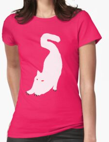 White cat Womens T-Shirt