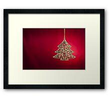 Christmas tree ornament  Framed Print