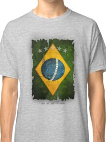 Brazil Flag World Cup 2014 Classic T-Shirt