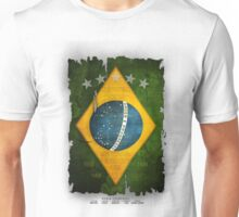 Brazil Flag World Cup 2014 Unisex T-Shirt