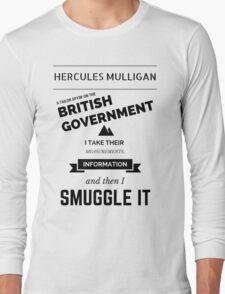 Hercules Mulligan Long Sleeve T-Shirt