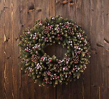Advent wreath by 3523studio