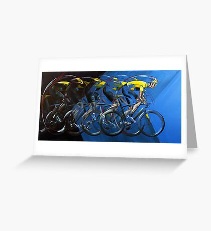 Pedal power Greeting Card