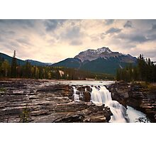 Athabasca Falls Waterfall Photographic Print