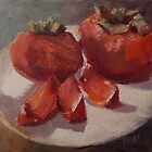 Persimmons by Jaana Day