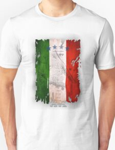 Italy Flag World Cup 2014 T-Shirt