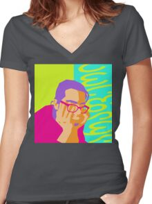 Nothing in Georgia Women's Fitted V-Neck T-Shirt