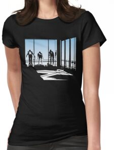Ferris Bueller and Friends. Womens Fitted T-Shirt