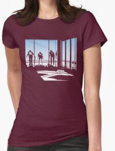 Ferris Bueller and Friends. Womens Fitted T-Shirt