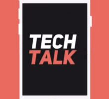 Tech Talk Logo Sticker