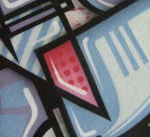 street art: bauhaus triptych 2 Sticker