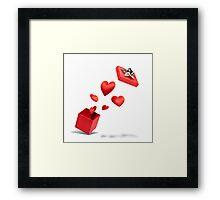 Present of Love Framed Print