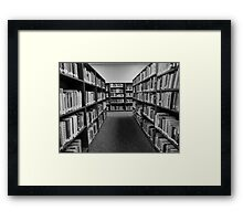 Librarian Dreams Framed Print