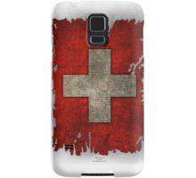 Switzerland flag world cup Samsung Galaxy Case/Skin