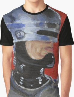 Retro Robocop Graphic T-Shirt