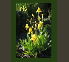 Yellow Iris Photograph Womens Fitted T-Shirt