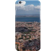 Flying Over Lisbon, Portugal iPhone Case/Skin