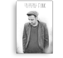 Fink - This is The Thing Canvas Print