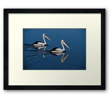 Feel the serenity Framed Print