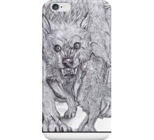 Weremonster  iPhone Case/Skin