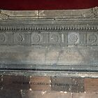 Sarcophagus Scipio 298 BC Vatican Museum Rome Italy 19840723 0004 by Fred Mitchell