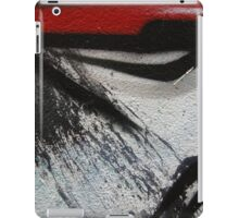 dragon lines and splatter diptych iPad Case/Skin