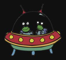 Alien - UFO - Flying Saucer Baby Tee
