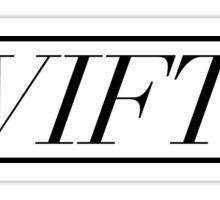 SWIFTIE. Sticker