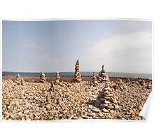 Holy Island Mini Structures Poster