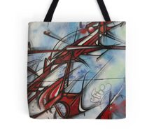 graffiti - dragon like lines Tote Bag