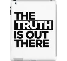 TRUTH. iPad Case/Skin