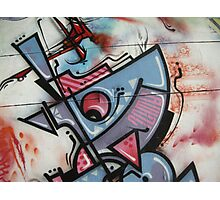 street art: bauhaus triptych 3 Photographic Print