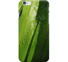 Watery Greenery iPhone Case/Skin