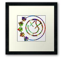Blink Splatter Framed Print
