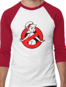 GB-Girl PinUp 2 (Red) Men's Baseball ¾ T-Shirt