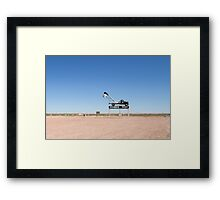Welcome to Coober Pedy Framed Print