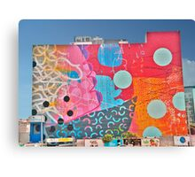 Funky Wall Canvas Print