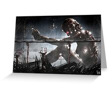 Cyberpunk Painting 026 Greeting Card
